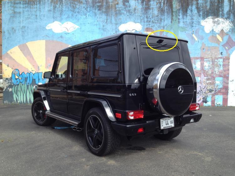 Usa Stock Waterproof Rear View Camera Housing Mercedes G