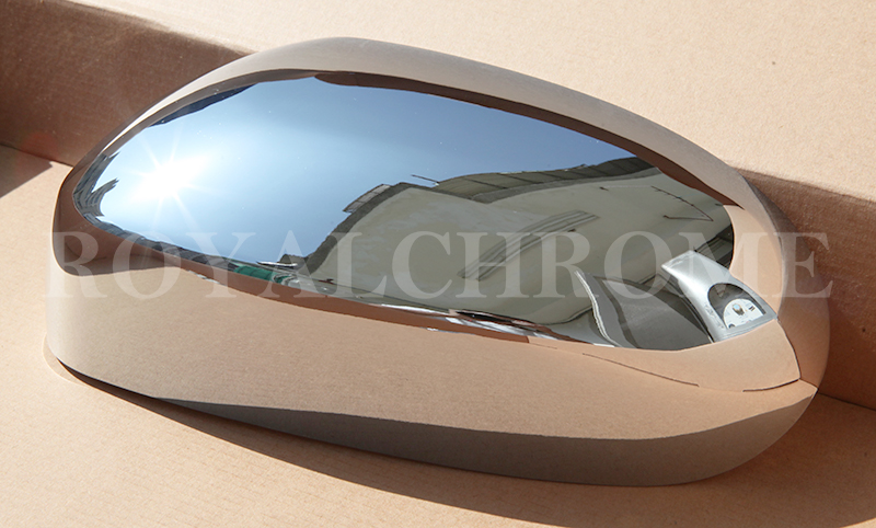 New Chrome Door Wing Mirror Covers Trims For Jaguar X Type X400 2001 To 2007 Ebay