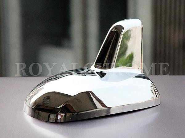 Uk stock royal chrome aerials cap mercedes w204 w222 w212 for Mercedes benz antenna cap