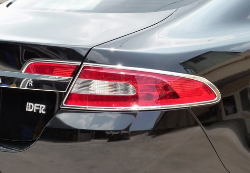Fast Ems X2 Chrome Rear Tail Light Surrounds Trims For